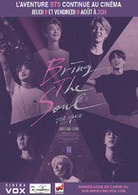 DOCUMENTAIRE : BTS - BRING THE SOUL : THE MOVIE
