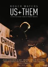 CONCERT : ROGER WATERS - US + THEM