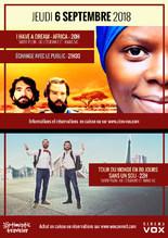 CINÉ-DÉBAT : SOIRÉE OPTIMISTIC TRAVELER  (I have a dream - Africa + Le tour du monde en 80 jours sans un sou)