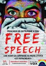 CINÉ-DÉBAT : FREE SPEECH, PAROLES LIBRES