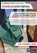 ART AU CINÉMA : AU COEUR DE L'EXPO - CUBISME AU CENTRE POMPIDOU