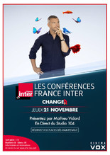 CONFERENCE FRANCE INTER : CHANGER