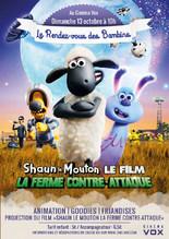 RDV DES BAMBINS - SHAUN LE MOUTON, LA FERME CONTRE-ATTAQUE