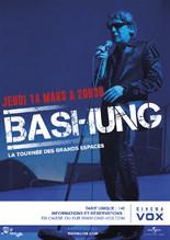 CONCERT : BASHUNG - LA TOURNÉE DES GRANDS ESPACES