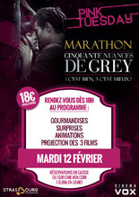 PINK TUESDAY : MARATHON 50 SHADES