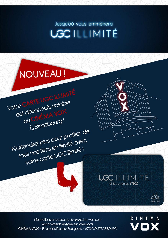 Carte Ugc Illimite.Ugc Illimite Au Cinema Vox