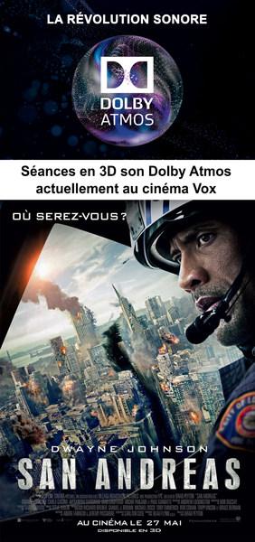 S�ance en son Dolby Atmos