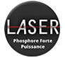 Projection avec image laser phosphore