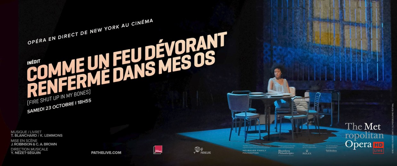 Photo du film Comme un feu dévorant renfermé dans mes os (Fire shut up in my bones | Metropolitan Opera)
