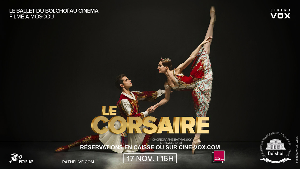 Photo du film Le Corsaire (Bolchoï)