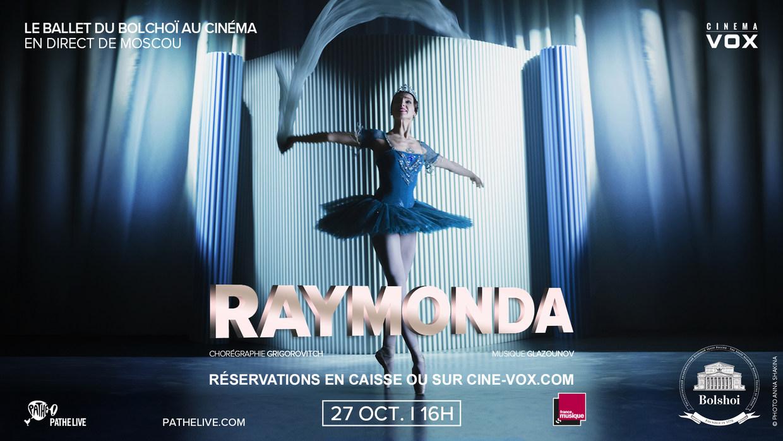 Photo du film Raymonda (Bolchoï)