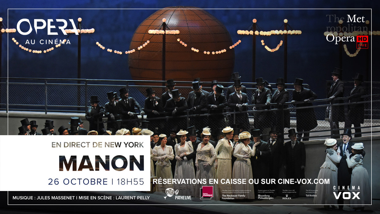 Photo du film Manon (Metropolitan Opera)