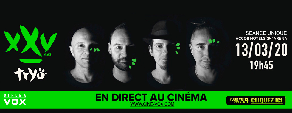 Photo du film Tryo XXV ans - Le concert en direct au cinéma