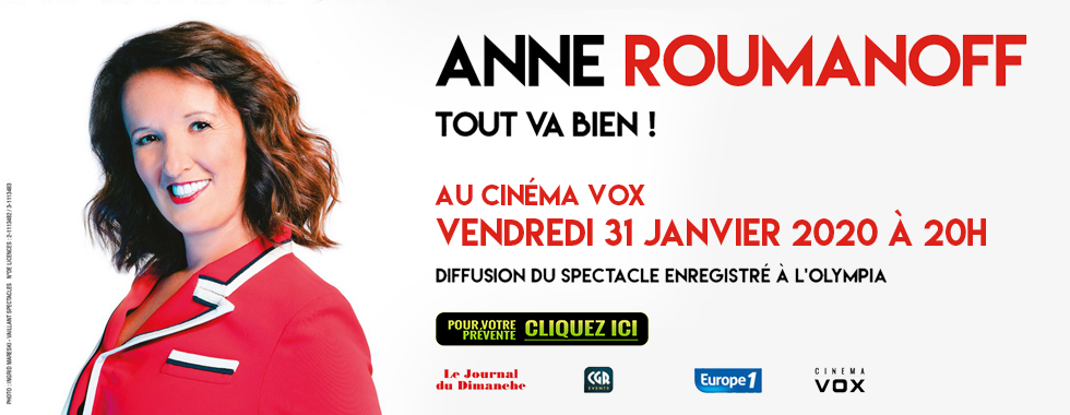 Photo du film Anne Roumanoff dans tout va bien