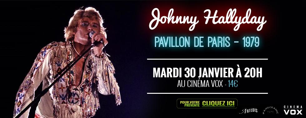 Photo du film JOHNNY HALLYDAY - PAVILLON DE PARIS LIVE