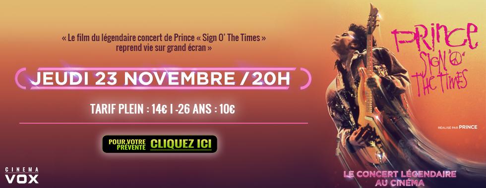 Photo du film Prince - Sign O' the times (Pathé Live)