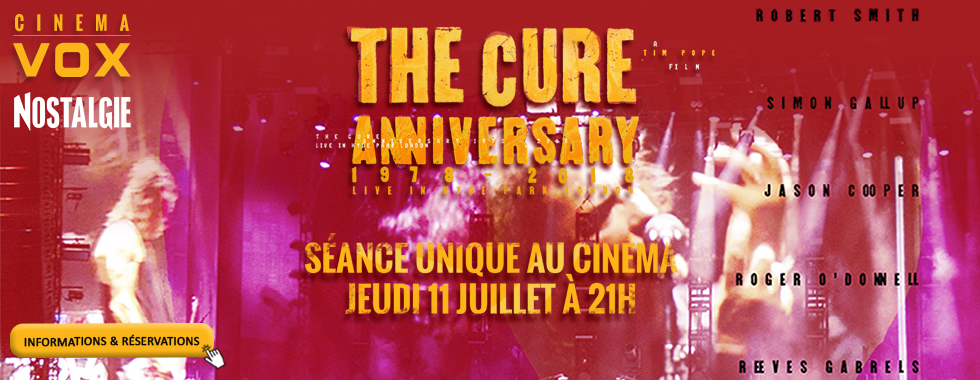 Photo du film The Cure - Anniversary 1978-2018 Live in Hyde Park London