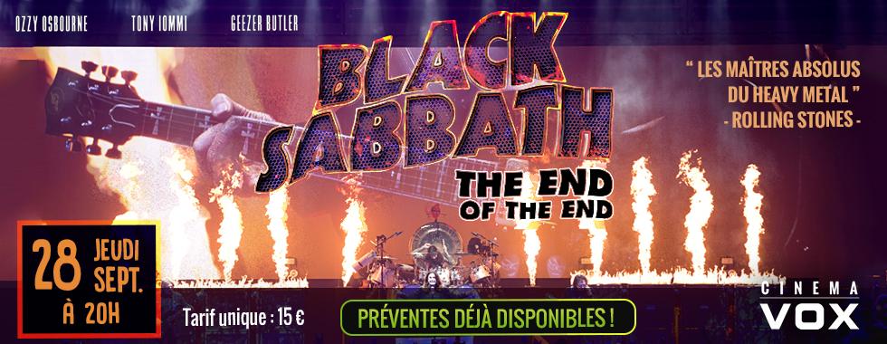 Photo du film Black Sabbath - The End Of The End